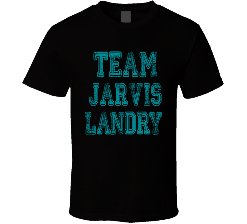 Team Jarvis Landry Miami Football Player Fan Worn Look Sports T Shirt