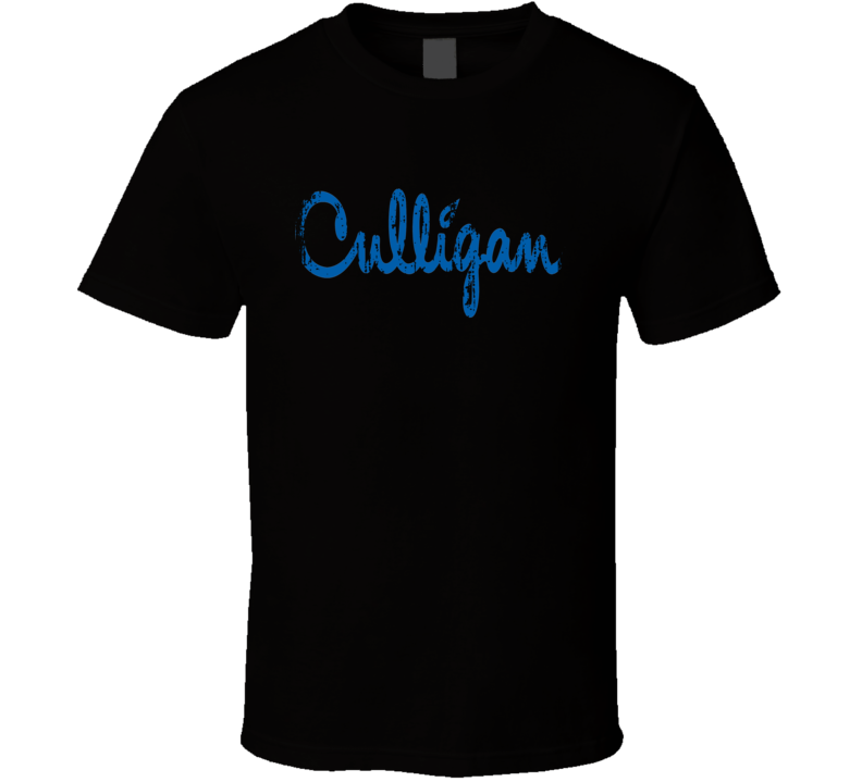 Culligan Water Natural Mineral Drink Worn Look Cool Beverage T Shirt
