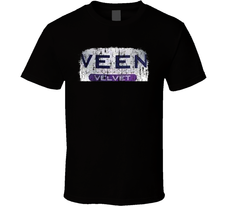 VEEN Water Natural Mineral Drink Worn Look Cool Beverage T Shirt