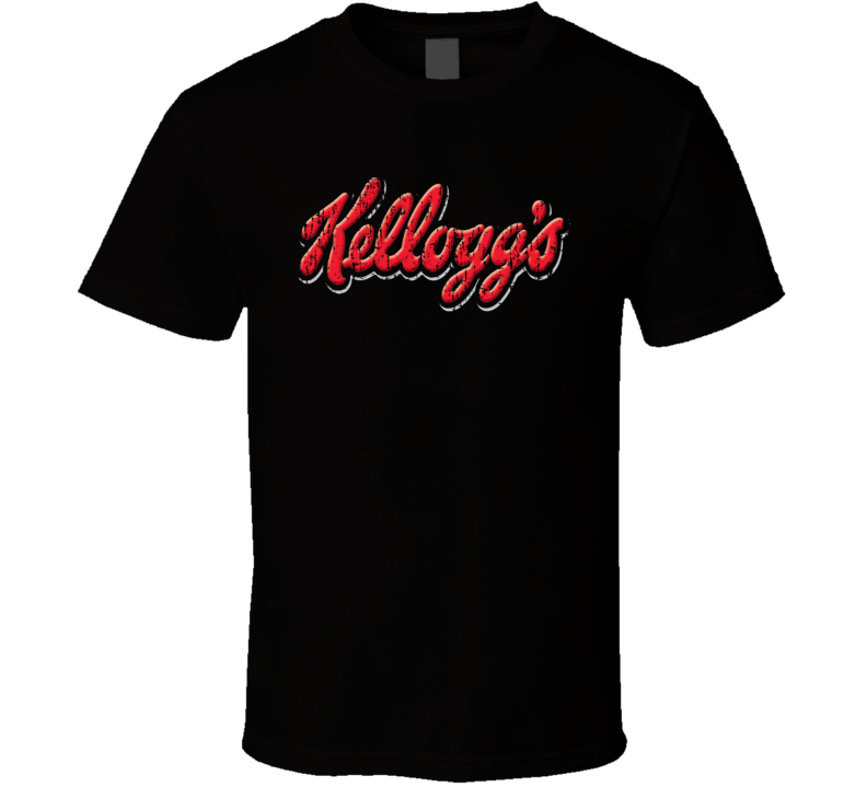 Kellogg Water Natural Mineral Drink Worn Look Cool Beverage T Shirt