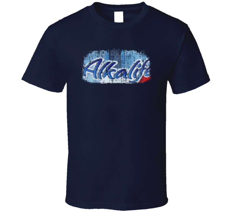 Alkalife TEN Water Mineral Drink Worn Look Cool Beverage T Shirt