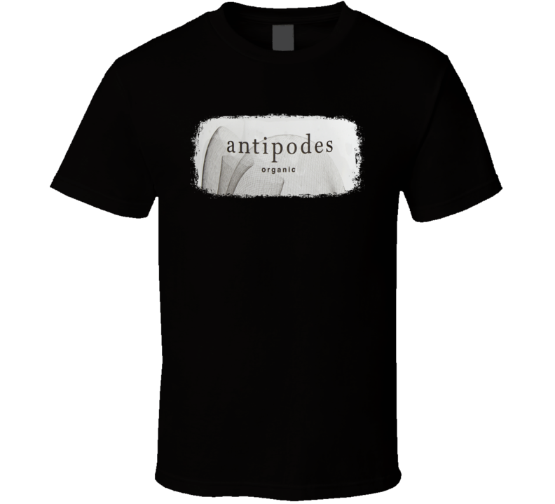 Antipodes Water Natural Mineral Drink Worn Look Cool Beverage T Shirt
