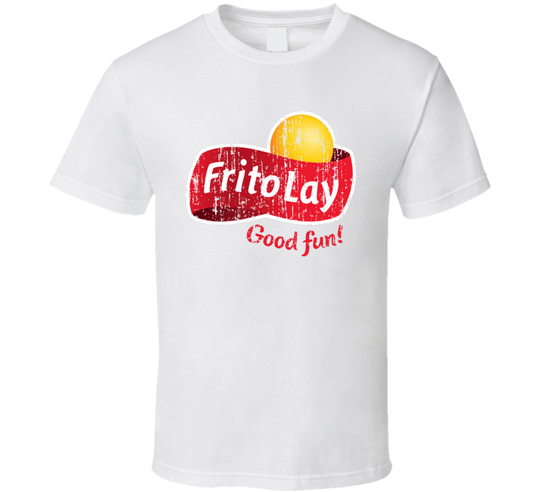 Frito-Lay Mexican Cuisine Cool Spicy Food Worn Look T Shirt