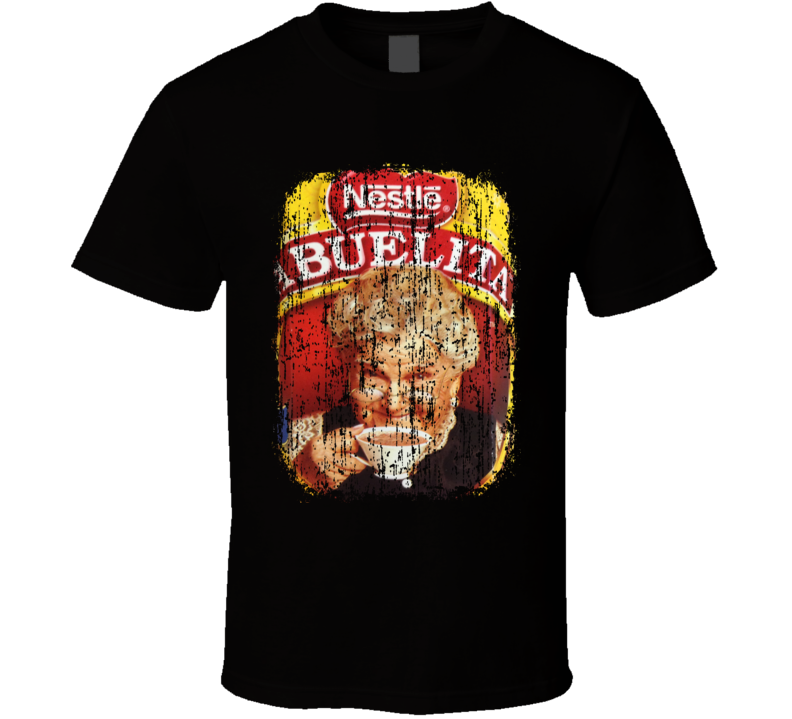 Abuelita Chocolate Mexican Cuisine Cool Spicy Food Worn Look T Shirt