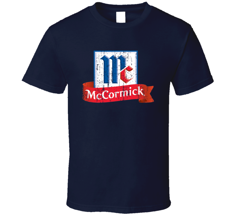 McCormick Mexican Cuisine Cool Spicy Food Worn Look T Shirt
