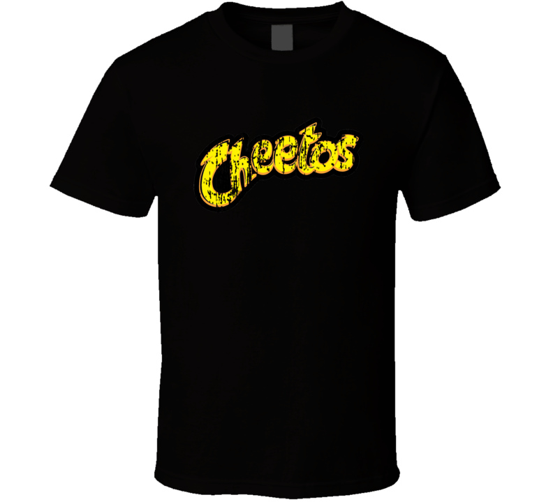 Cheetos Mexican Cuisine Cool Spicy Food Worn Look T Shirt