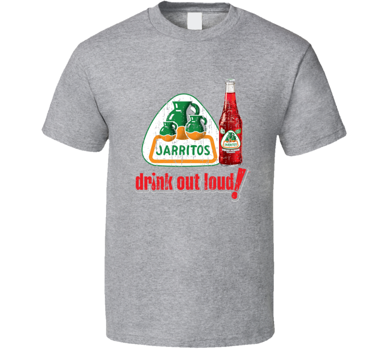 Jarritos Mexican Cuisine Cool Spicy Food Worn Look T Shirt
