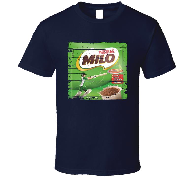 Milo Mexican Cuisine Chocolate Tea Food Worn Look T Shirt