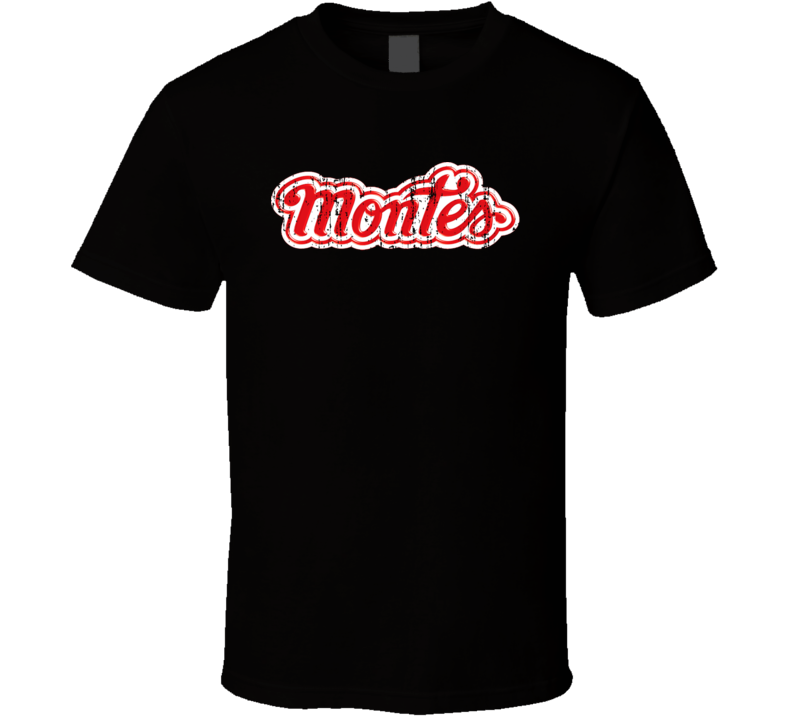 Dulces Montes Mexican Cuisine Cool Spicy Food Worn Look T Shirt