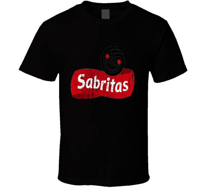 Sabritas Mexican Cuisine Cool Spicy Food Worn Look T Shirt