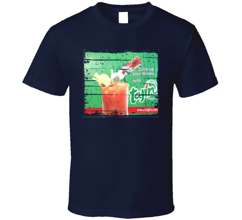 Tajin Fruit & Snack Mexican Cuisine Cool Spicy Food Worn Look T Shirt