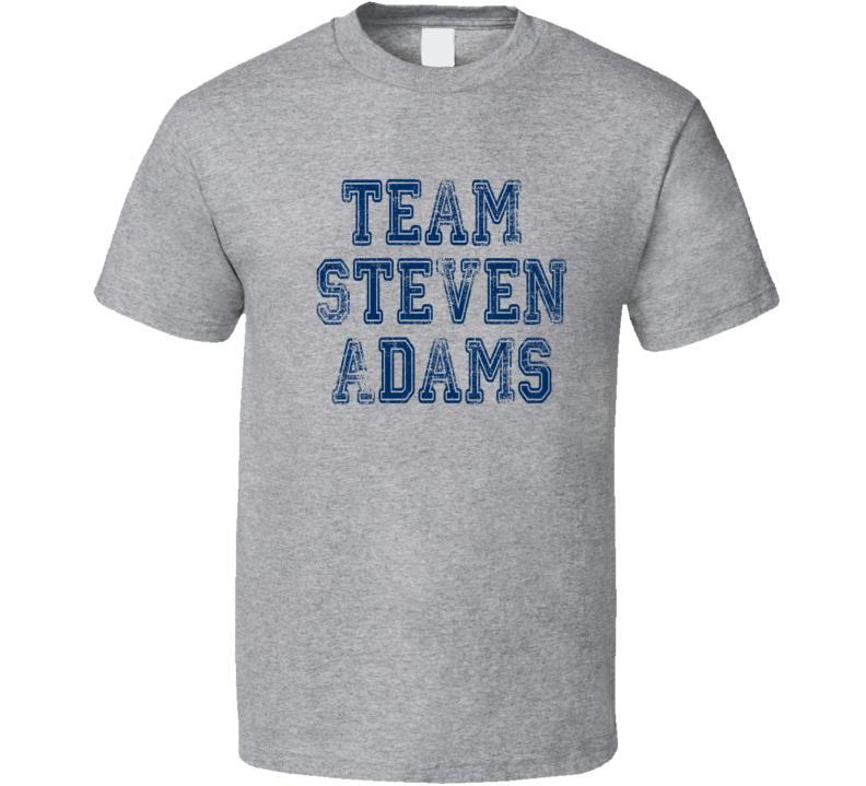Team Steven Adams Oklahoma Basketball Player Fan Worn Look T Shirt