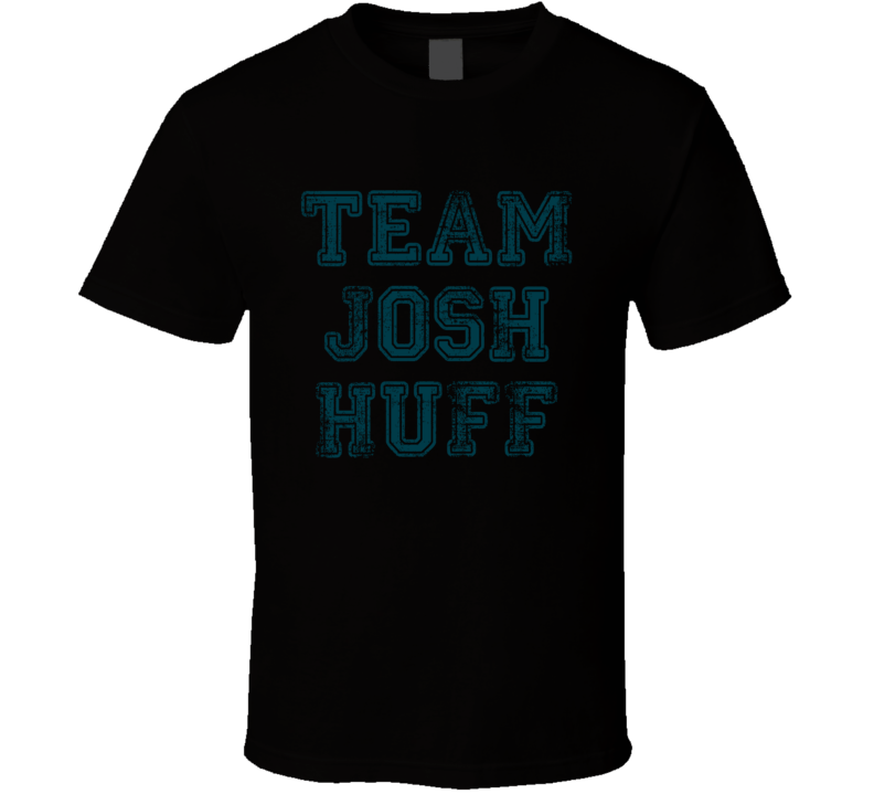 Team Josh Huff Philadelphia Football Player Worn Look Sports T Shirt