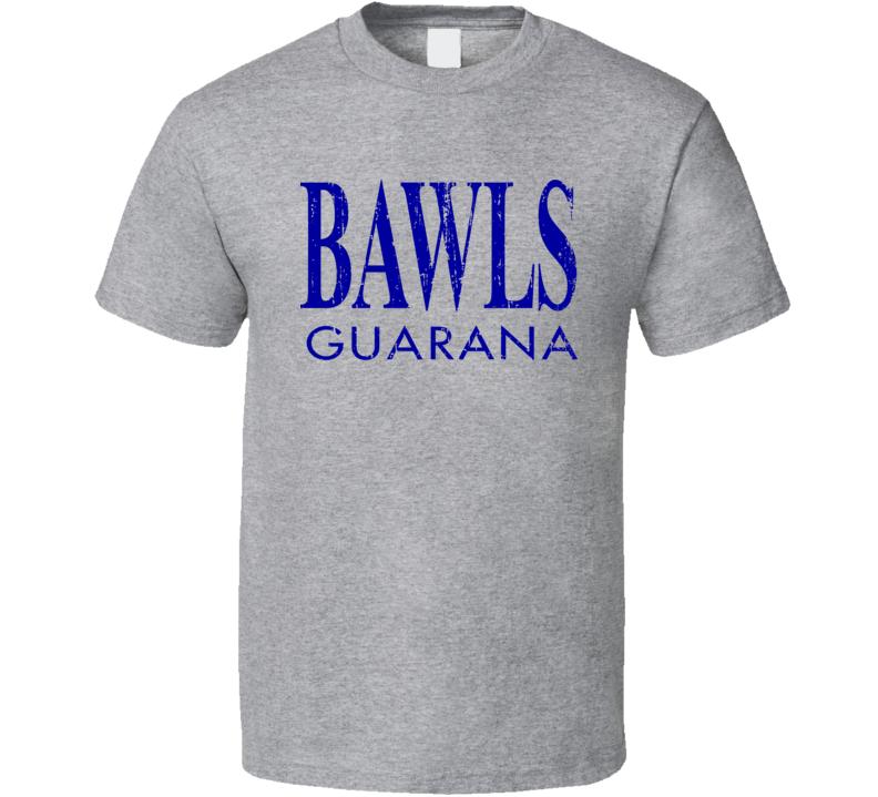 Bawls Energy Drink Cool Caffine Beverage Worn Look Sports T Shirt