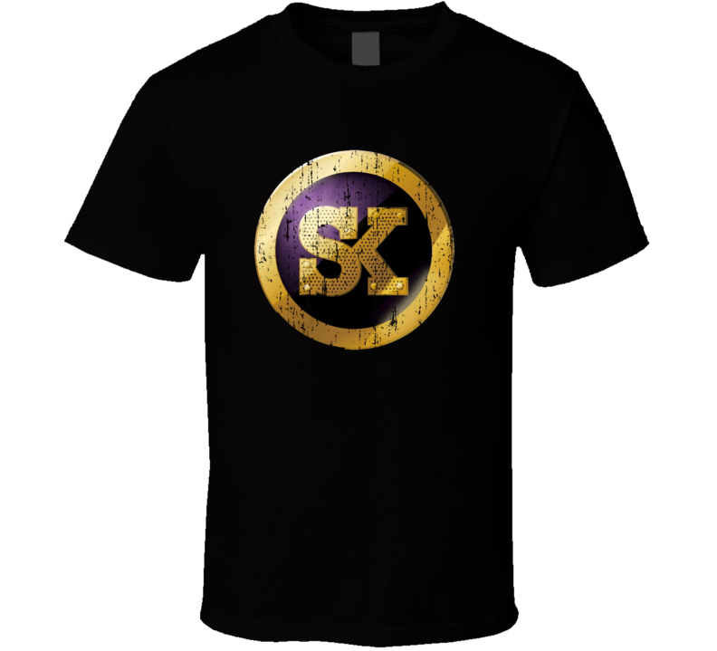 Street King Energy Drink Caffeine Beverage Worn Look Sports T Shirt