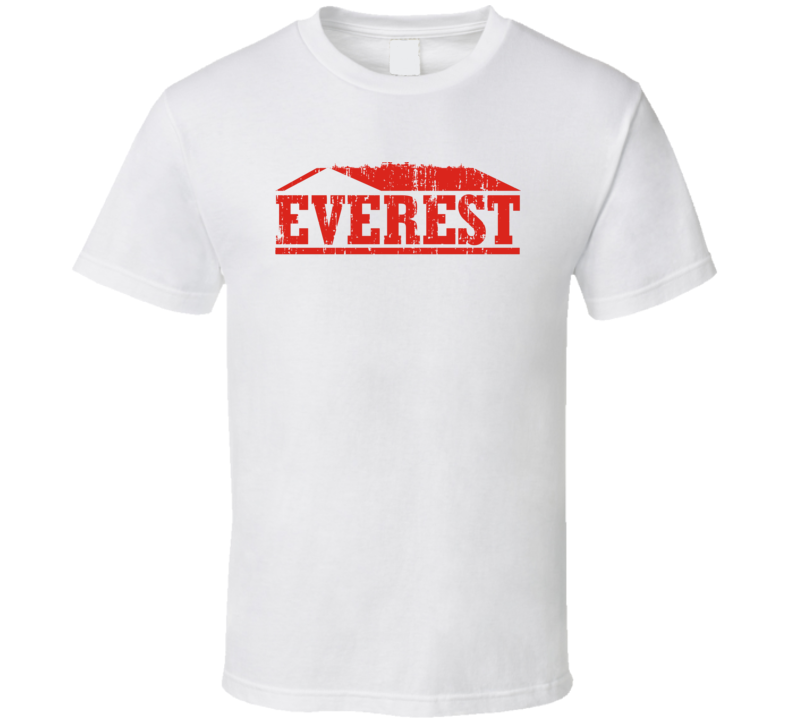 Everest Spices Indian Cuisine Cool Curry Food Lover Worn Look T Shirt