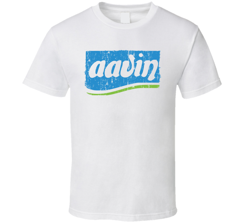 Aavin Indian Cuisine Cool Curry Food Lover Worn Look T Shirt
