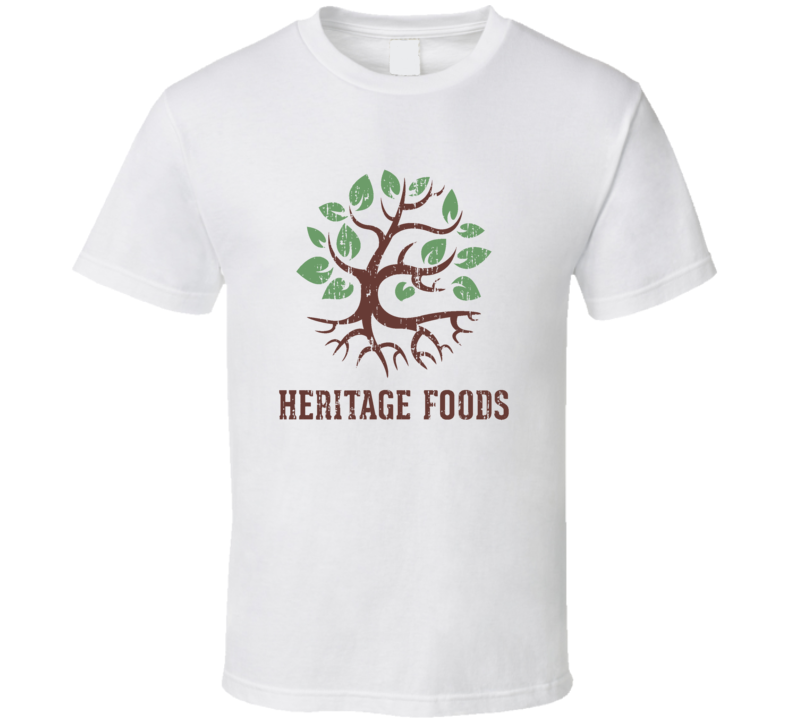 Heritage Indian Cuisine Cool Curry Food Lover Worn Look T Shirt