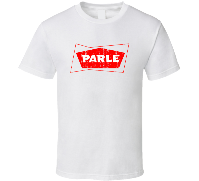 Parle Indian Cuisine Cool Curry Food Lover Worn Look T Shirt