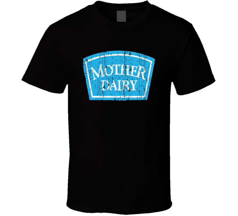 Mother Dairy Indian Cuisine Cool Curry Food Lover Worn Look T Shirt