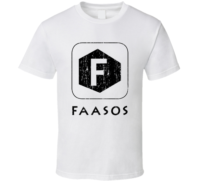 Faasos Indian Cuisine Cool Curry Food Lover Worn Look T Shirt