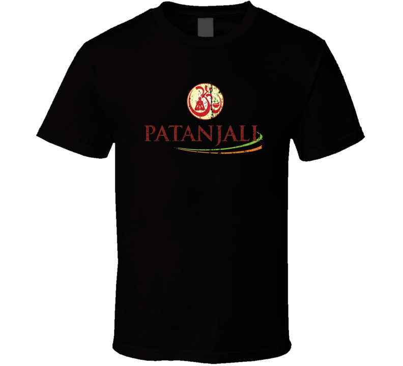 Patanjali Ayurved Indian Cuisine Curry Food Lover Worn Look T Shirt
