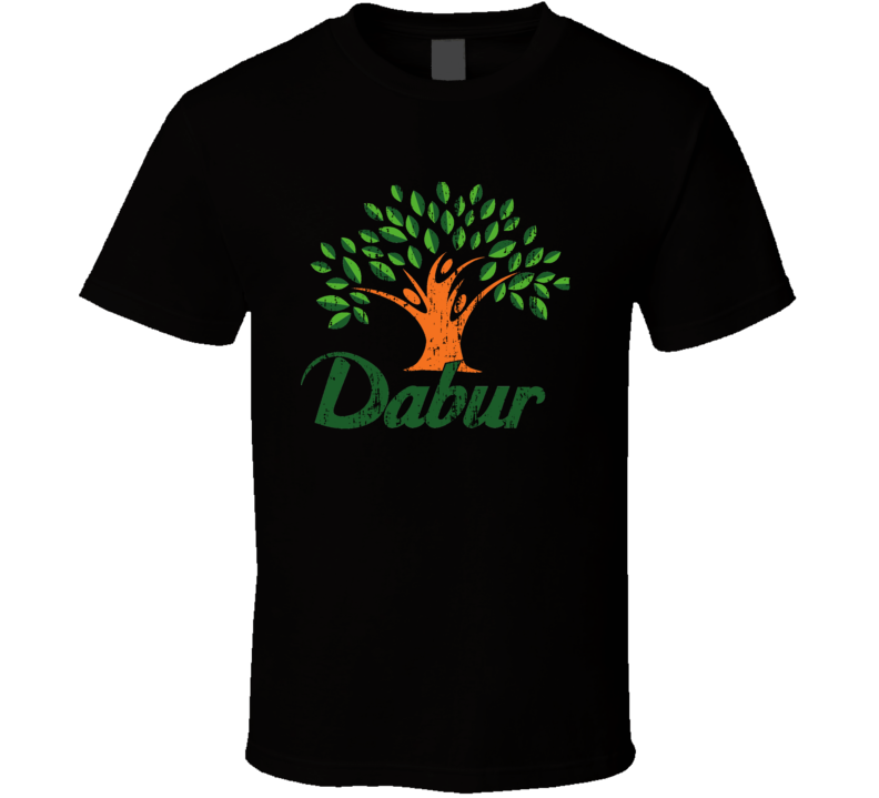 Dabur Indian Cuisine Cool Curry Food Lover Worn Look T Shirt