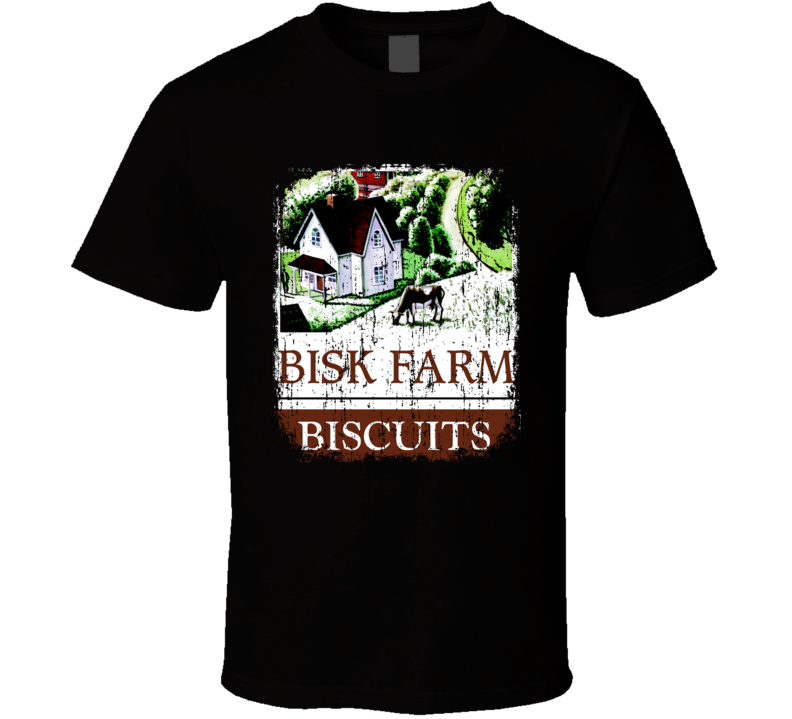 Bisk Farm Indian Cuisine Cool Curry Food Lover Worn Look T Shirt