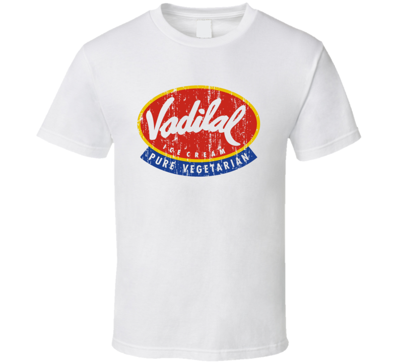 Vadilal Indian Cuisine Cool Curry Food Lover Worn Look T Shirt