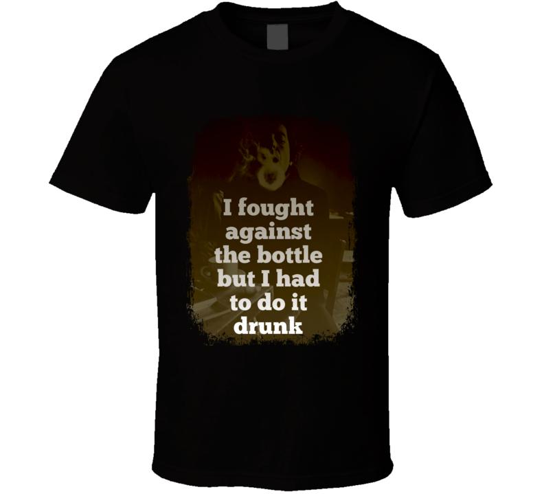 Leonard Cohen Inspiring Quote Memorial Worn Look Tribute T Shirt