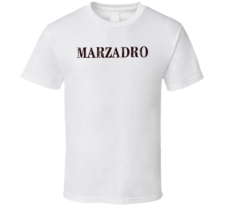 Marzadro Distillery Italian Cuisine Spicy Food Lover Worn Look T Shirt