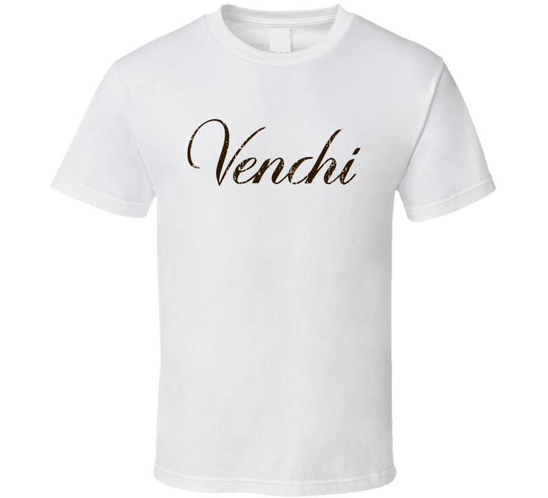 Venchi Italian Cuisine Spicy Food Lover Worn Look Cool T Shirt