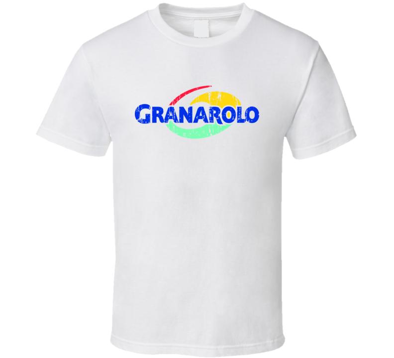Granarolo Italian Cuisine Spicy Food Lover Worn Look Cool T Shirt