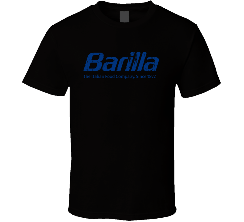 Barilla Italian Cuisine Spicy Food Lover Worn Look Cool T Shirt