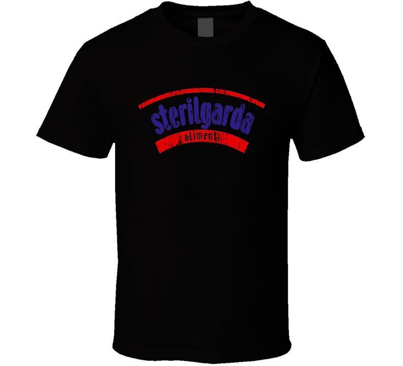 Sterilgarda Italian Cuisine Spicy Food Lover Worn Look Cool T Shirt