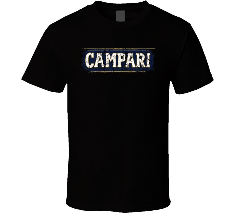 Campari Italian Cuisine Spicy Food Lover Worn Look Cool T Shirt