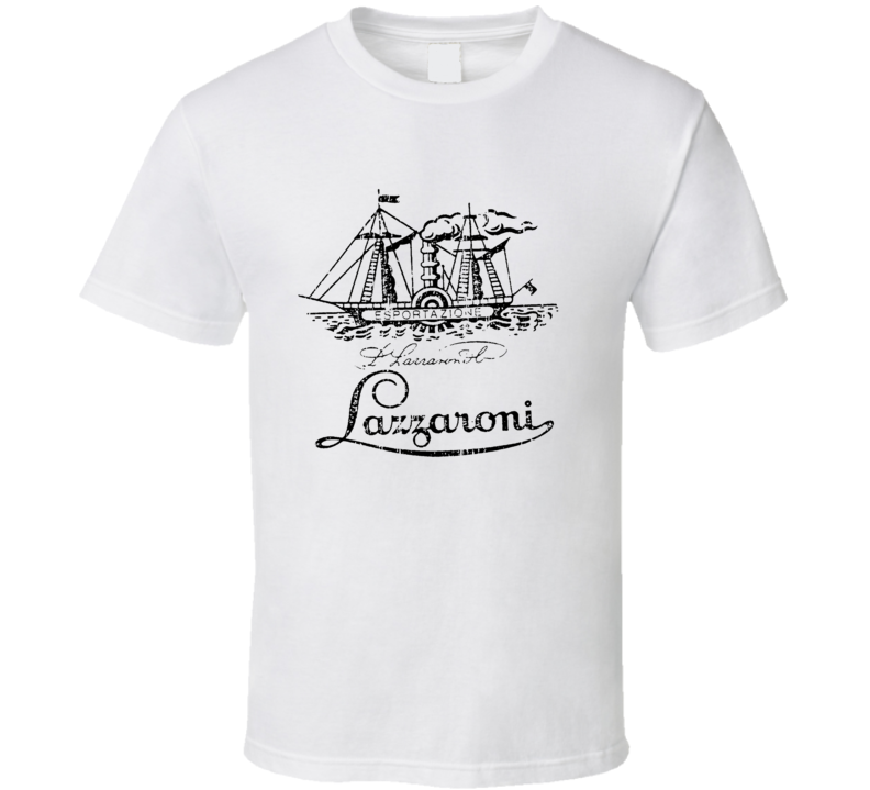 Lazzaroni Italian Cuisine Spicy Food Lover Worn Look Cool T Shirt