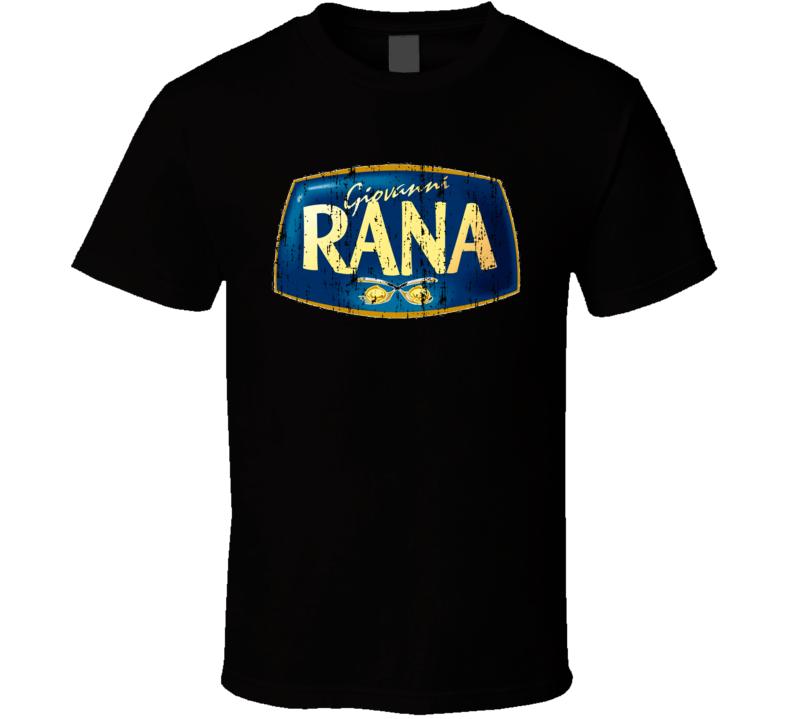 Giovanni Rana Italian Cuisine Spicy Food Lover Worn Look Cool T Shirt