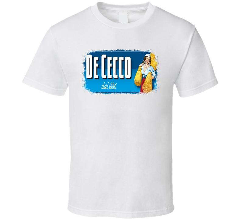 De Cecco Italian Cuisine Spicy Food Lover Worn Look Cool T Shirt