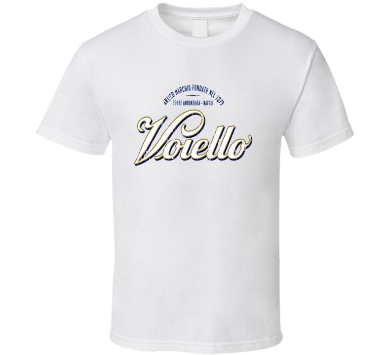 Voiello Italian Cuisine Spicy Food Lover Worn Look Cool T Shirt