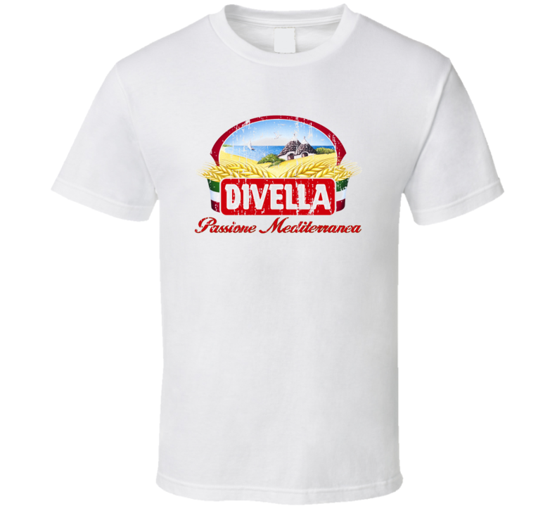 Divella Italian Cuisine Spicy Food Lover Worn Look Cool T Shirt