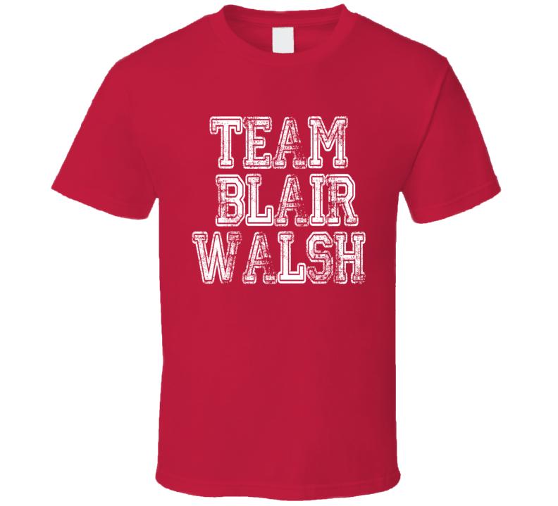 Team Blair Walsh Football Player Worn Look  Cool Sports T Shirt