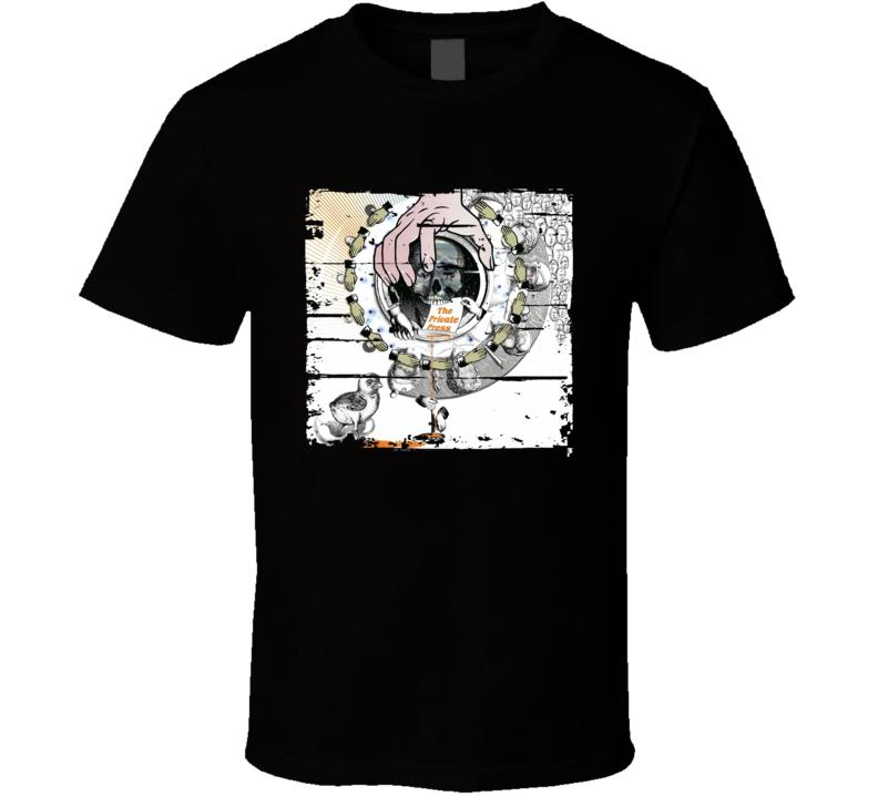 DJ Shadow The Private Press EDM Album Poster Worn Look Music T Shirt