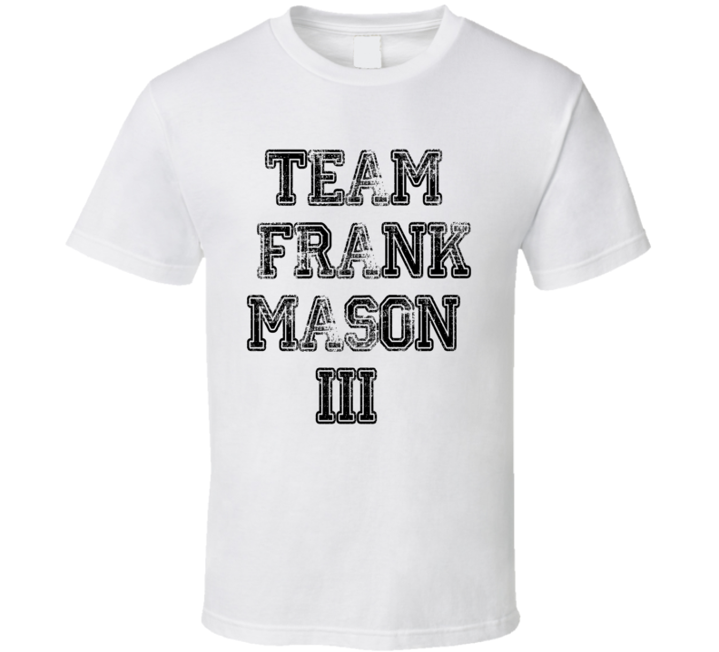 Team Frank Mason III Basketball Player Fan Worn Look Sports T Shirt