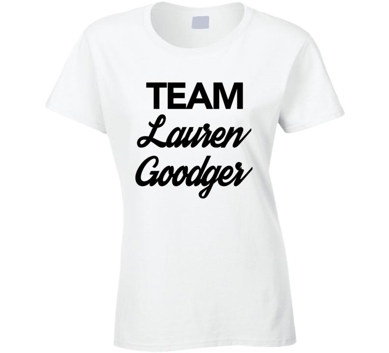 Team Lauren Goodger Glamour Model Celebrity Big Brother Ladies T Shirt