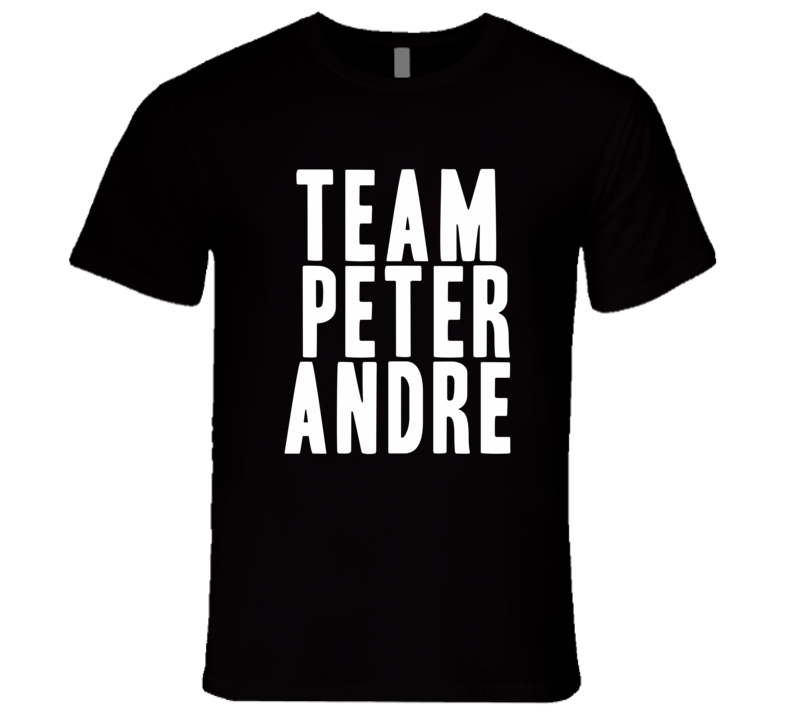 Team Peter Andre Mysterious Girl Singer Cool Celebrity Mens Fitted T Shirt