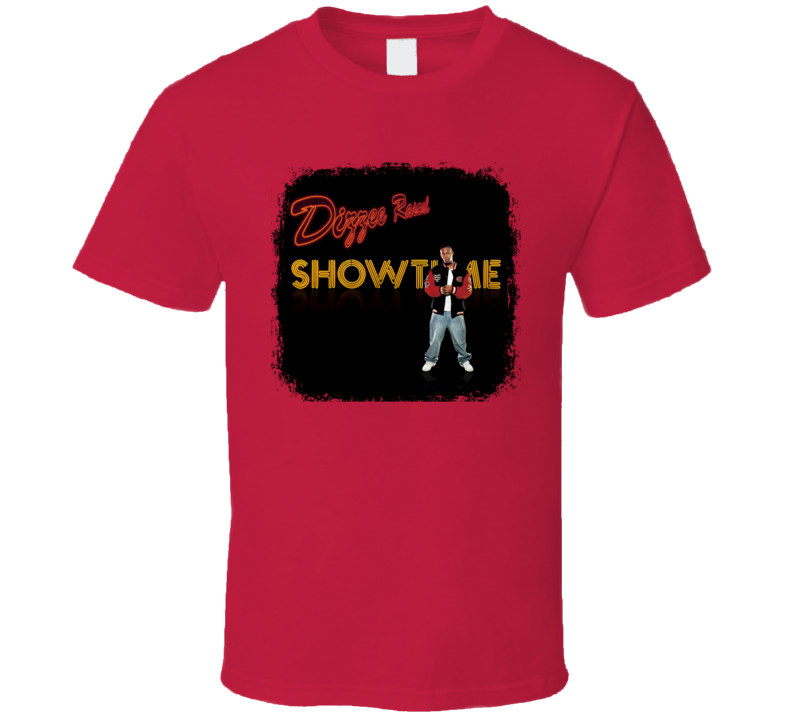 Dizzee Rascal Showtime EDM Album Poster Worn Look Music T Shirt