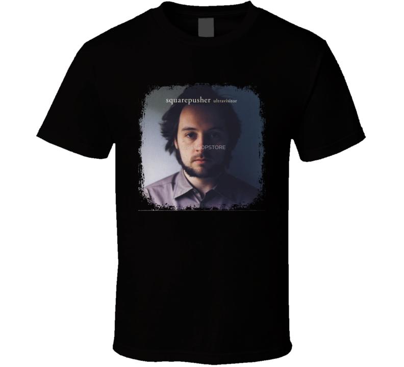 Squarepusher Ultravisitor EDM Album Poster Worn Look Music T Shirt