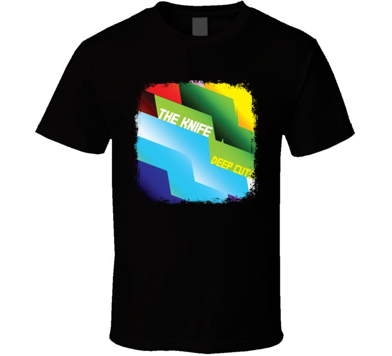 The Knife Deep Cuts EDM Album Poster Worn Look Music T Shirt