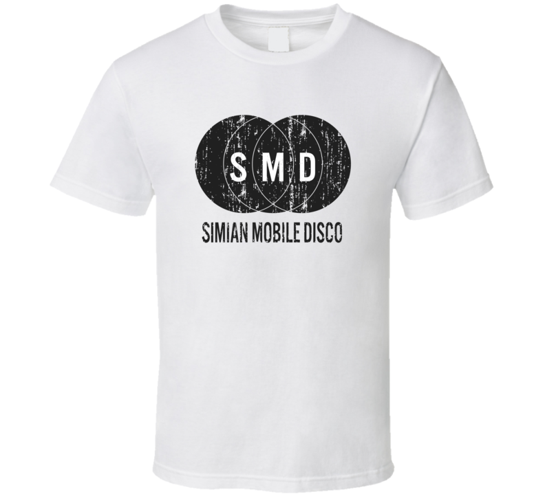Simian Mobile Disco Attack Decay Sustain Poster Worn Look T Shirt